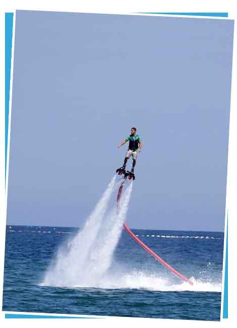 flyboard segway trip javea