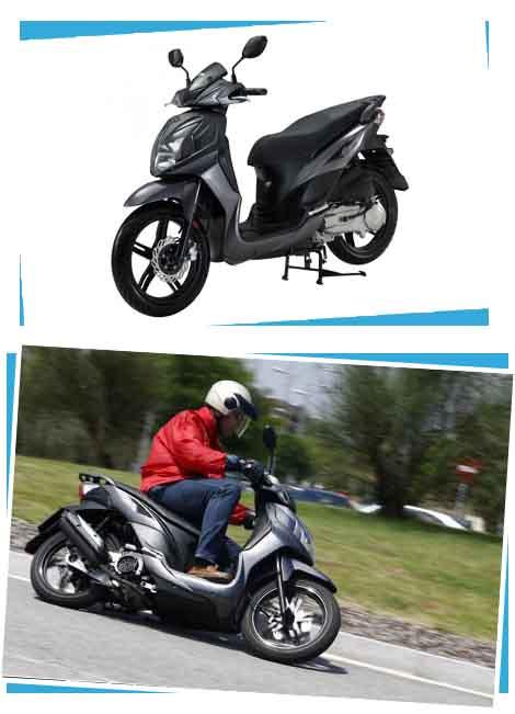 alquiler moto 125 segway javea